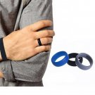 Men Women Unisex 3PCS/SET Wedding Ring Rubber Silicone Band Active Sport Gym FT