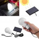 12 LED 3W Portable Solar Powered Rechargeable Light Bulb Outdoor Camping Lamp