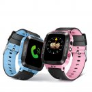 With Flashlight Anti-Lost Smart SIM Watch Tracker SOS Help For Kids Children FT