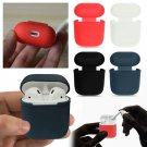 NEW For Apple AirPods Charging Silicone Cover Case Earphone Anti Lost Strap Rope