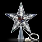 Color Changing Lamp Christmas Tree Topper Star LED Light Party Decoration 1PCS
