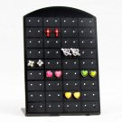 FTT99 New 36 Pair Jewelry Holder Organizer Earrings Display Stand