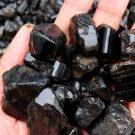 Natural Tourmaline Crystal Rough Rock Mineral Specimen Healing Stone 50g