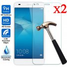 2PCS 9H+ Premium Tempered Glass Screen Protector For Huawei Honor 7 Lite/5C New
