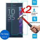 For Sony Xperia XZ 2PCS 9H HD Premium Tempered Glass Screen Protector Film Guard