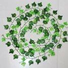 DIY Garland Plants Vine Fake Foliage Flower Artificial Ivy Leaf Home Decor FT