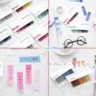 Office Bookmark Gradient Sticky Notes Marker Memo Index Flags Tab Strip Sticker