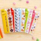 Cute Cartoon Animal Memo Pad Stickers School Stationary Sticky Notes 1Set