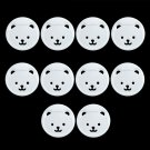 European Standard Bear Round Head Children Power Socket Protection Cover 10Pcs