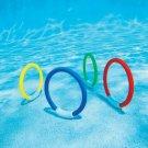 Children Kids Water Play Toys Swimming Pool Accessories Underwater Diving Rings
