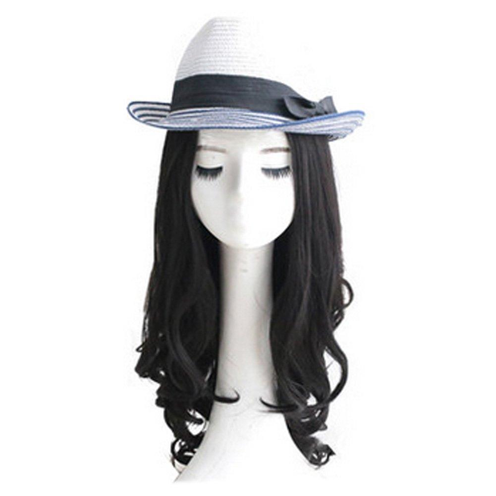 Lady Wig Romantic High Quality Fashion Natural Curls Wig Fashion Bob Black