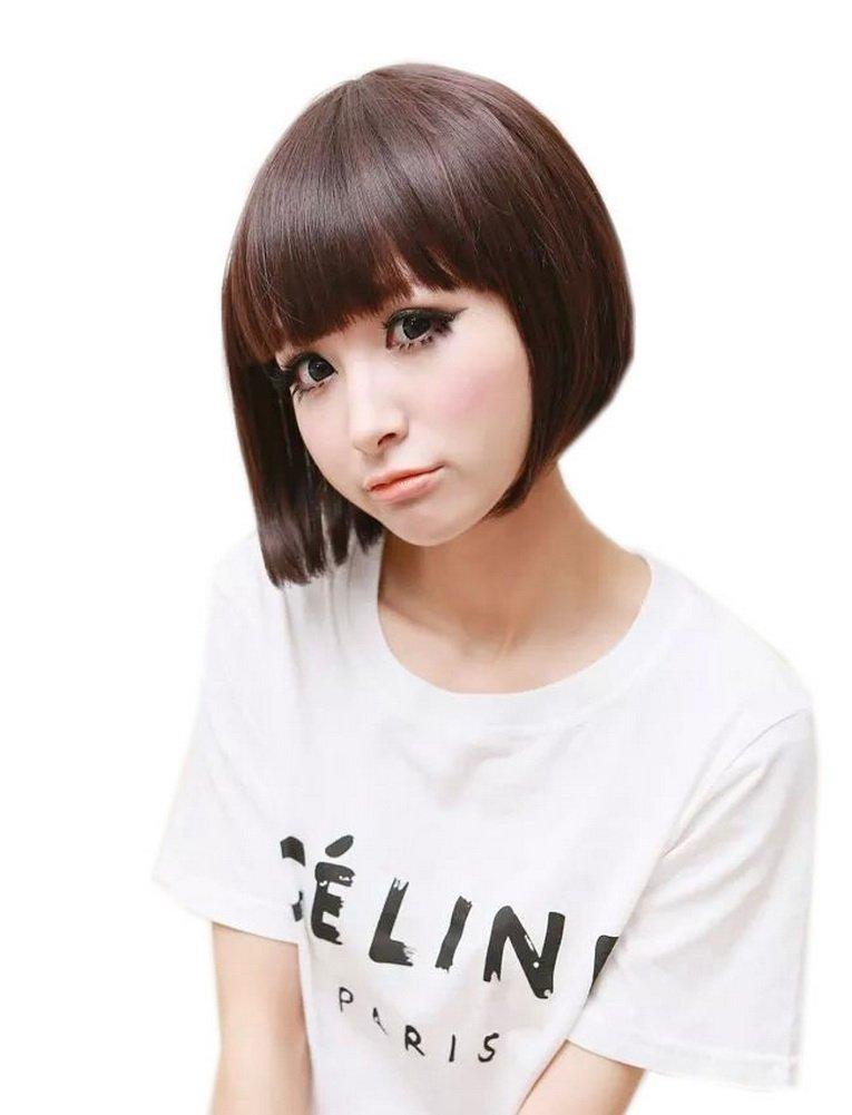 Cute Girly BOBO Hairstyle Short Wig for Women