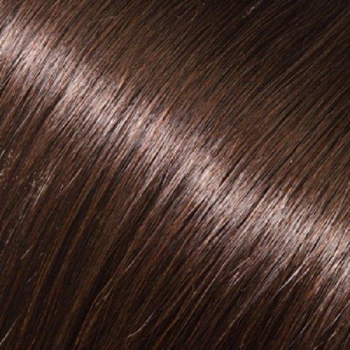 Donna Bella Milan 22 inche Pure Human Remy Hair I-Link Pro Straight #2 (Darkest Brown)