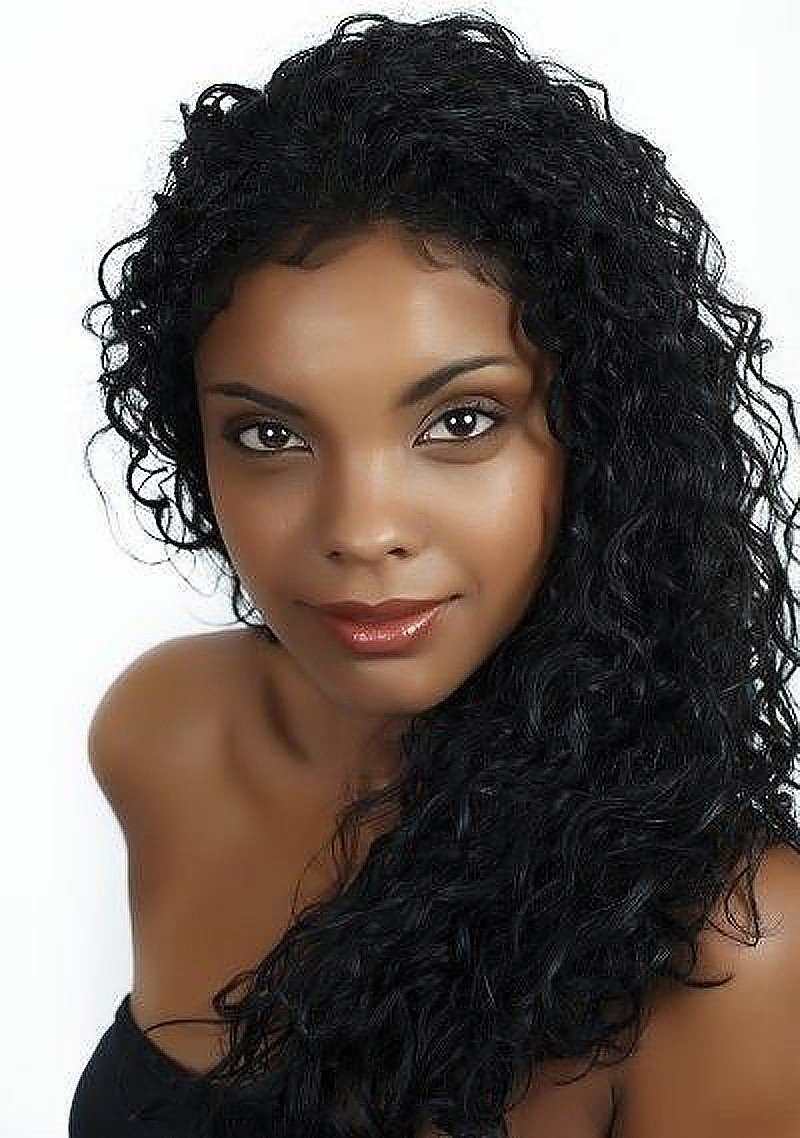 Curly 100% Virgin Brazilian Human Hair Wigs Lace Front Wig Hair 16 inch