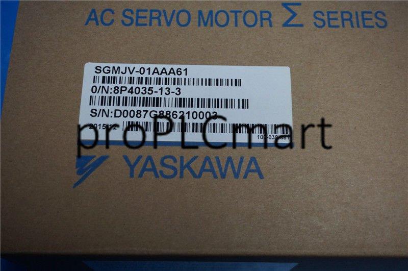 YASKAWA SERVO MOTOR SGMJV-01AAA61 EXPEDITED shipping SGMJV01AAA61 NEW