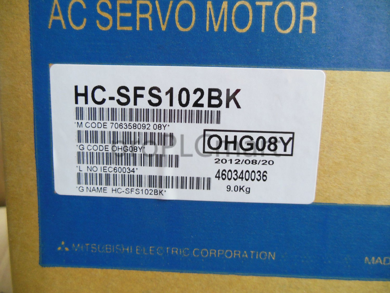 MITSUBISHI SERVO MOTOR HC-SFS102BK FREE EXPEDITED shipping HCSFS102BK NEW