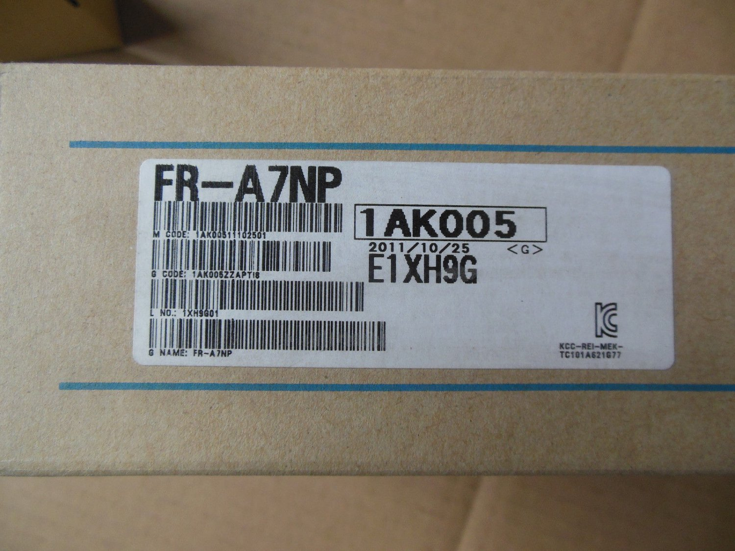 Mitsubishi PLC FR-A7NP NEW FREE EXPEDITED SHIPPING FRA7NP