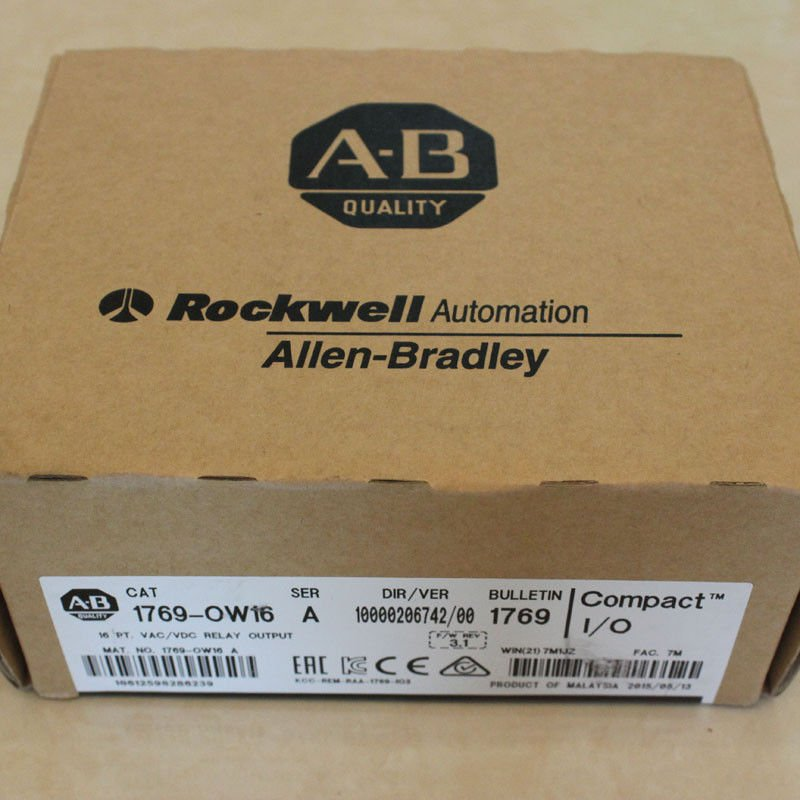 AB PLC 1769-OW16 NEW FREE EXPEDITED SHIPPING 1769OW16