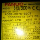 FANUC SERVO MOTOR A06B-0078-B203 FREE EXPEDITED SHIPPING A06B0078B203 used