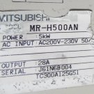 Mitsubishi Servo Drive MR-H500AN FREE EXPEDITED SHIPPING MRH500AN USED