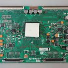 Sharp T-Con Board CPWBX RUNTK 4323TP Logic Board