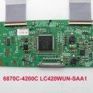 Original LG T-Con Board 6870C-4200C LC420WUN-SAA1 Logic Board For Philips