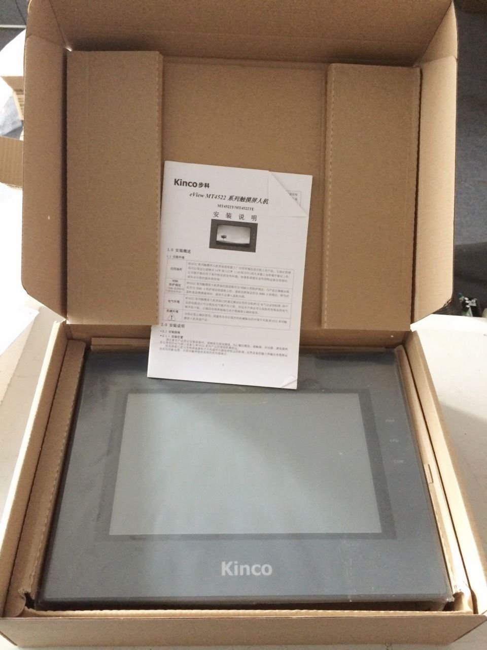 MT4522T Kinco HMI Touch Screen 10.1 inch 800*480 with program cable new in box
