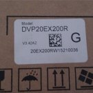 DVP20EX200R Delta EX2 Series Analog PLC DI8/AI4 DO6 Relay/AO2 100-240VAC new