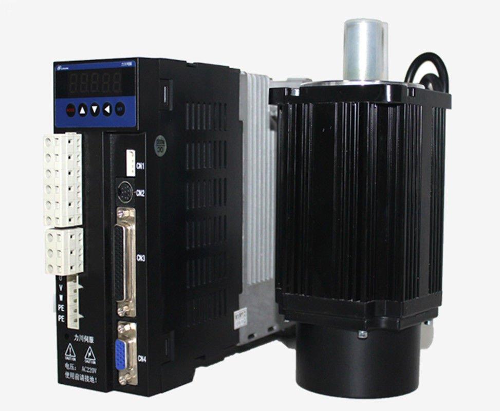 3phase 220v 1000w 1kw 4n m 2500rpm 130mm ac servo motor for Ac servo motor drive
