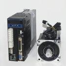 single phase 220V 400w 0.4KW 1.27N.m 3000rpm 60mm AC servo motor drive kit