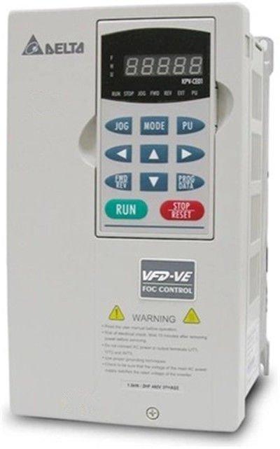 VFD370V43A-2 DELTA VFD-VE VFD Inverter Frequency converter 37kw 50HP 3PHASE 380V