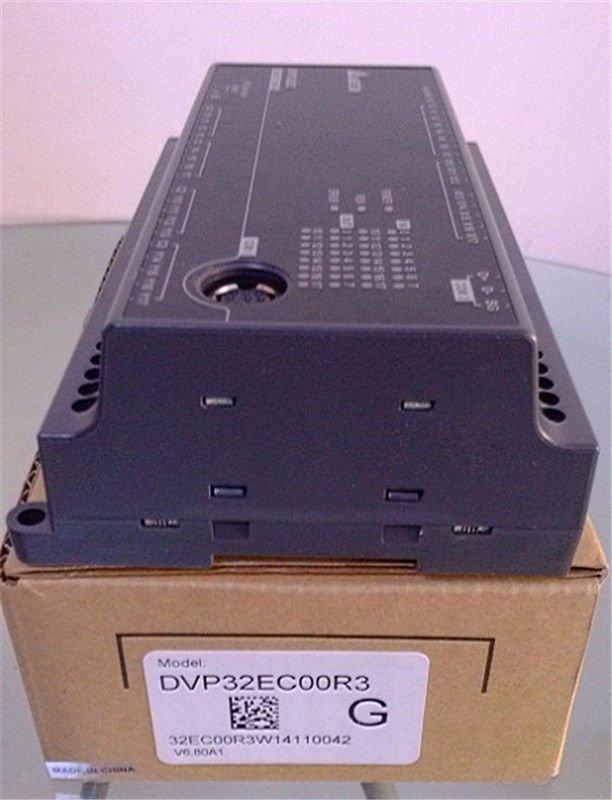 DVP32EC00R3 Delta EC3 Series Standard PLC DI 16 DO 16 Relay 100-240VAC new