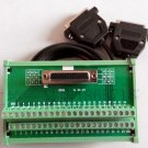 Terminal station 44pin with 1m CN1 cable for Delta ASDA-B2 servo motor driver