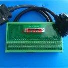 50pin terminal blocks with 1m DV0P4360 CN1 X4 cable for panasonic AC servo drive