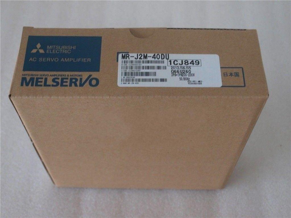 Genuine New Mitsubishi Servo Drive MR-J2M-40DU In Box MRJ2M40DU