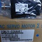 NEW  YASKAWA SERVO MOTOR 200V 3PH 200W SGMJV-02AAA61 IN BOX
