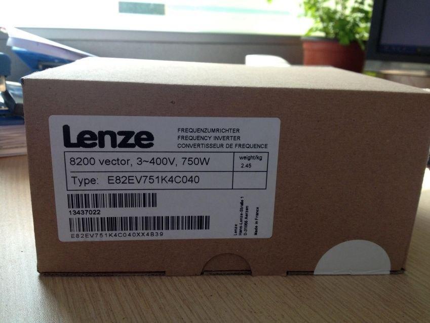 Genuine Lenze SMD Inverter 0.75KW E82EV751K4C040 E82EV751_4C040 in box