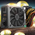Free DHL ETH MINER Gold POWER 1600W supply for R9 380 RX 470 RX480 6 GPU CARDS