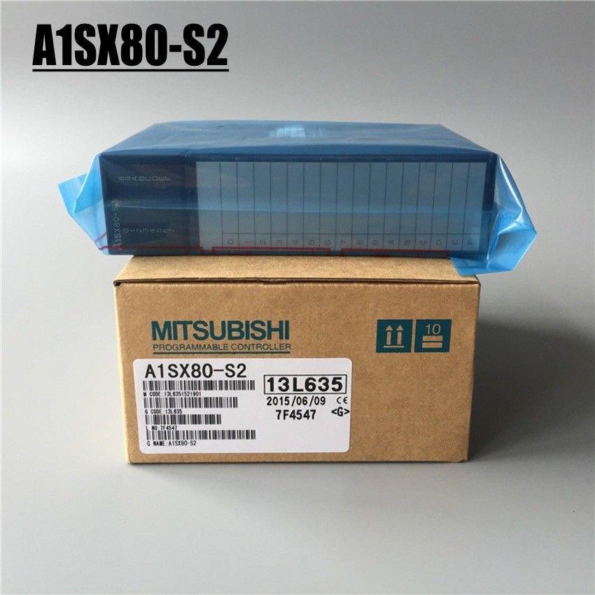 Brand new MITSUBISHI PLC A1SX80-S2 IN BOX A1SX80S2