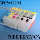 PGI250 CLI251 Refillable ink cartridge for Canon PIXMA MG6320 MG7120 IP8720