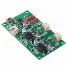 Stereo Bluetooth Receiver Amplifier Board Lithium Battery Powered For Speakers
