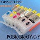 Refillable ink cartridge for Canon PIXMA MG7550 MG6350 MG7150 IP8750 printer