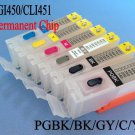 Refillable ink cartridge for Canon PIXMA MG6340 MG7140 iP8740 MG7540 printer