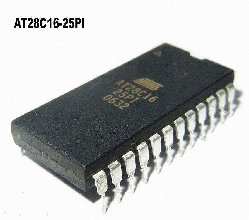 Free shipping 5pcs AT28C16-25PI INTEGRATED CIRCUIT DIP-24 28C16-25
