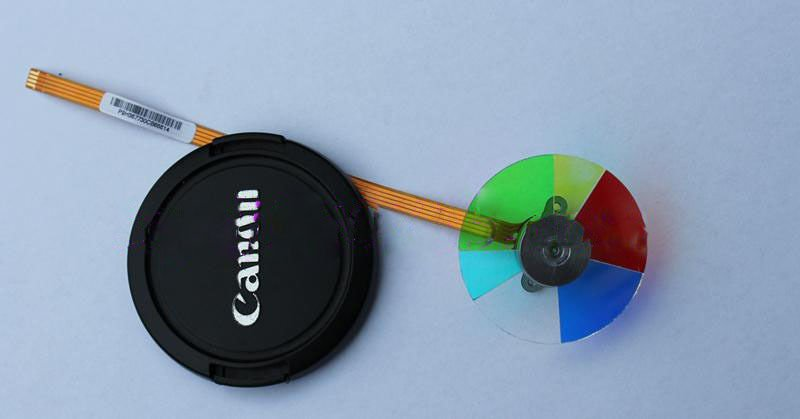 New Mitsubishi GX320ST Projector Color Wheel