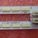A Pair ! E49B6720-01AR/AL HSY1503-490E3A00-03 66 LEDS 540MM LED Backlight strip