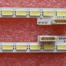 "A Pair 48"" Samsung LED Backlight LJ64-03260A 2011SGS48 7030 64R/L REV1.0 520MM"