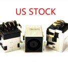 2pcs US Stock Dell Inspiron N5010 M5010 N4020 N4030 DC socket Jack Power Port WH
