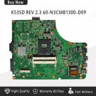 For AsusK53SD A53E REV 2.3 Motherboard K53E REV 2.3 60-N3CMB1300-D09 Mianboard-c