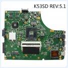 Asus K53SD REV5.1 GT610M/2G 60-N3EMB1300-D27 s989 USB3.0 Laptop Motherboard -c